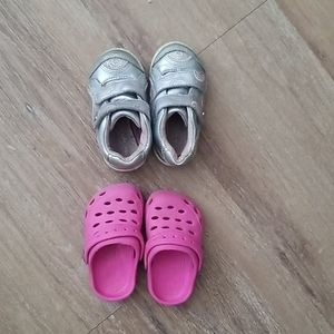 Baby size 4 shoes
